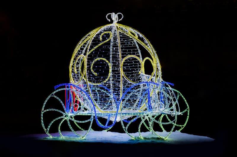 Magisch Vervoer voor Cinderella royalty-vrije stock fotografie