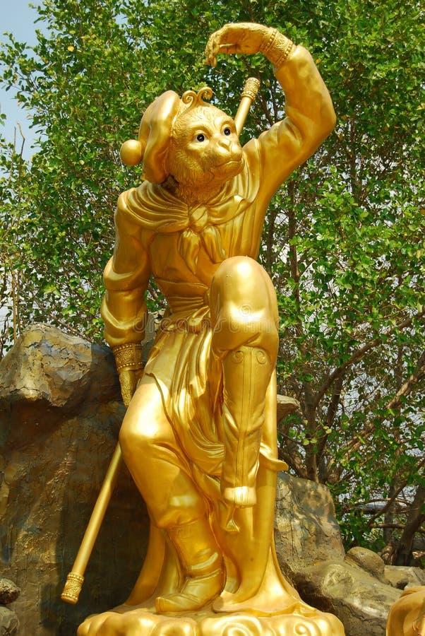 Magische aap. royalty-vrije stock afbeelding