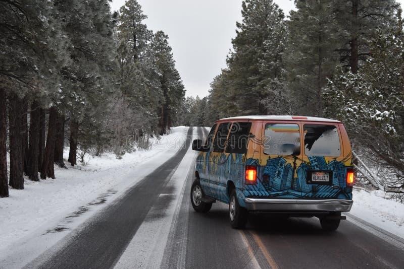 Magische Bestelwagen royalty-vrije stock fotografie