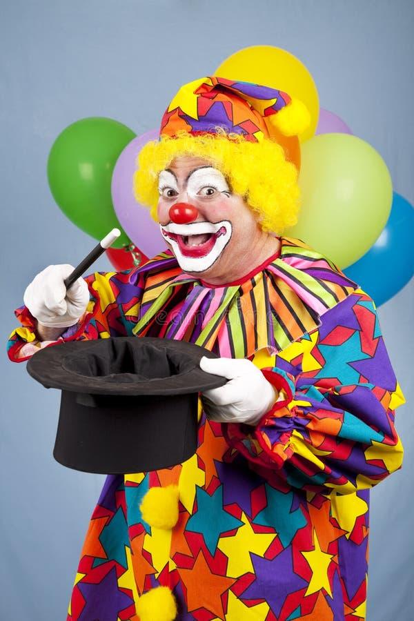 Magische Clown royalty-vrije stock afbeeldingen