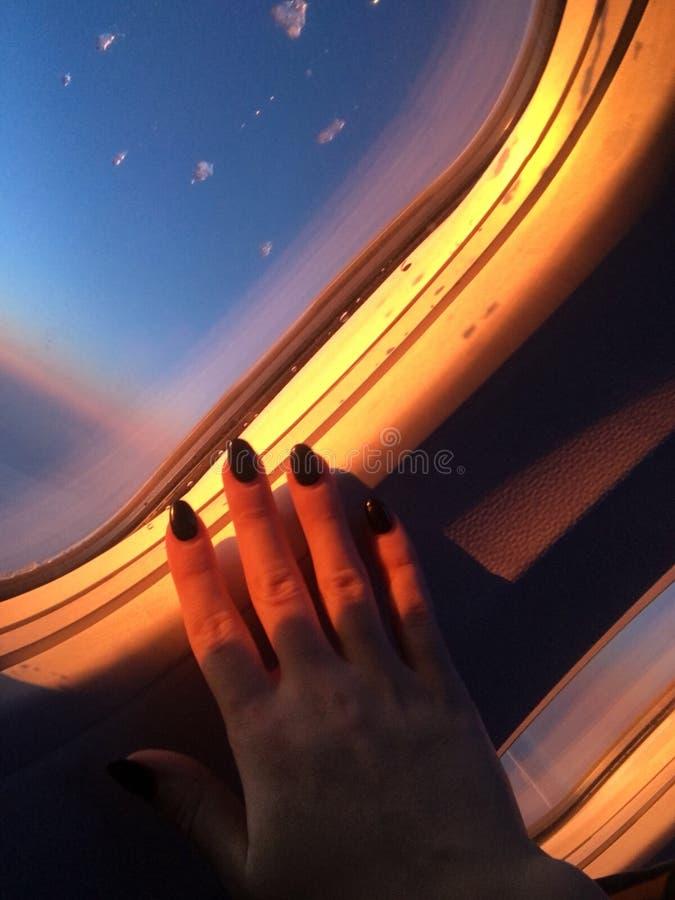 Magische de reis van de vliegwereld royalty-vrije stock afbeelding