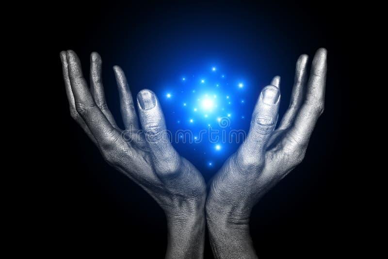 Magische energie stock fotografie
