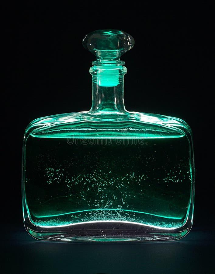 Magische Fles royalty-vrije stock foto