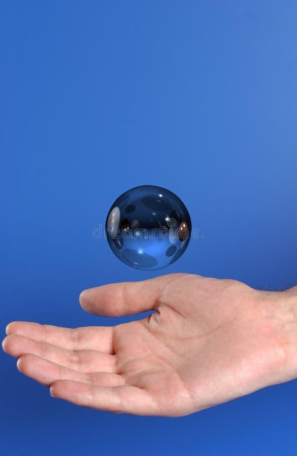 Magische Hand lizenzfreie stockfotografie