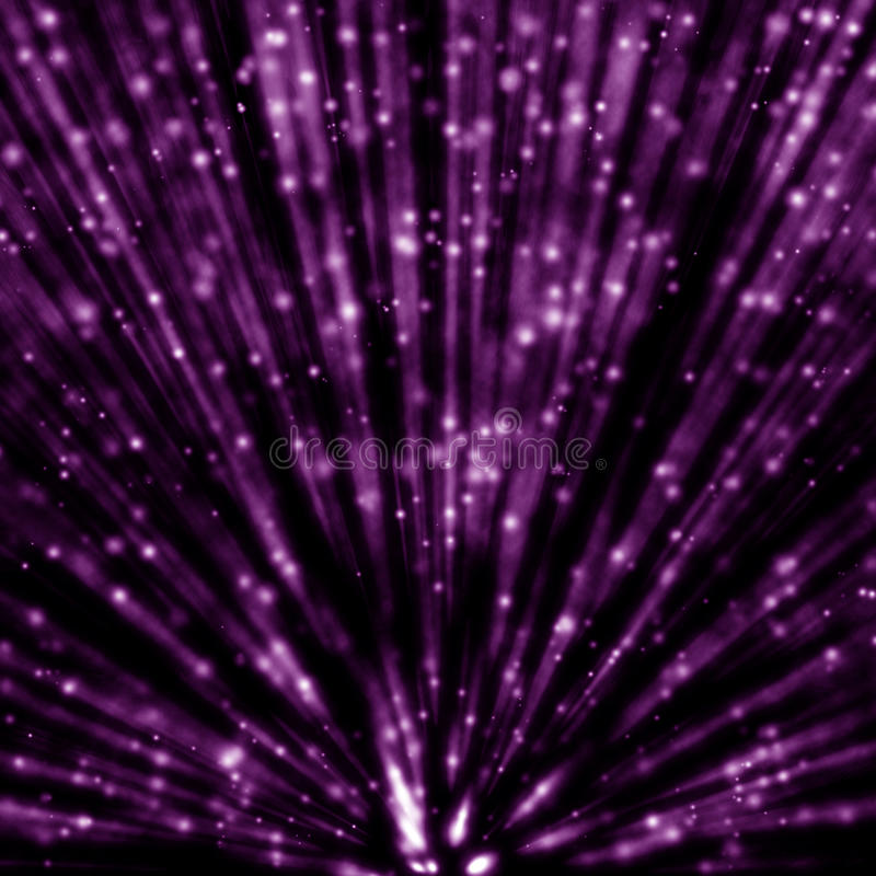 Magische helle Strahlen stockfotografie