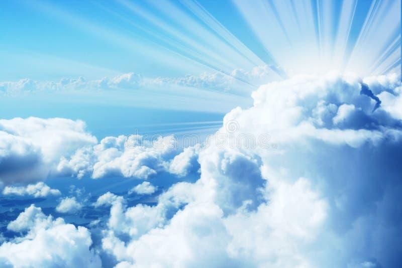 Magische hemel royalty-vrije stock foto's