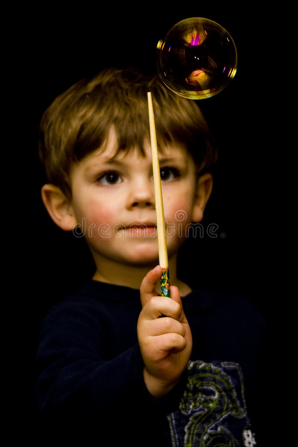 Magische jongen royalty-vrije stock foto