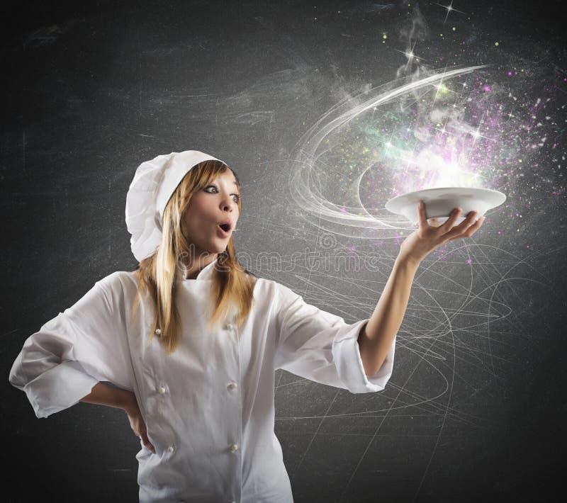 Magische keuken stock fotografie