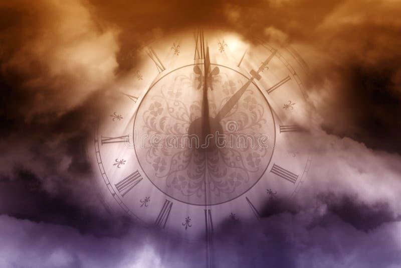 Magische klok stock afbeeldingen