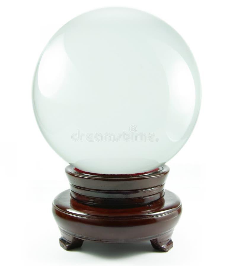 Magische Kristallkugel lizenzfreie stockbilder