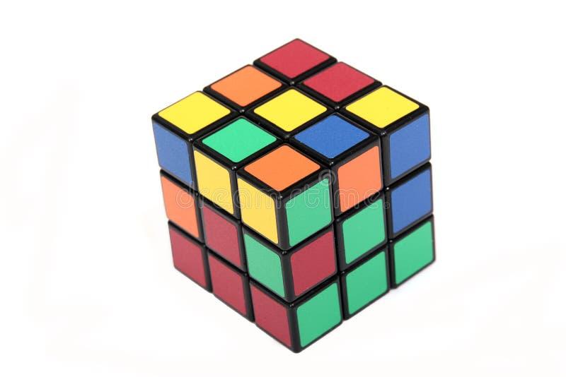 Magische kubus royalty-vrije stock foto