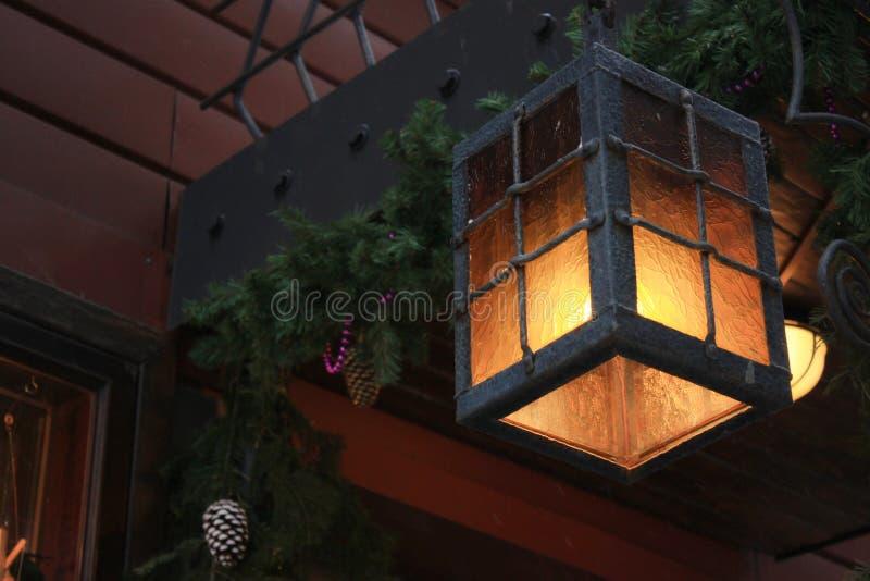 Magische lantaarn stock foto's