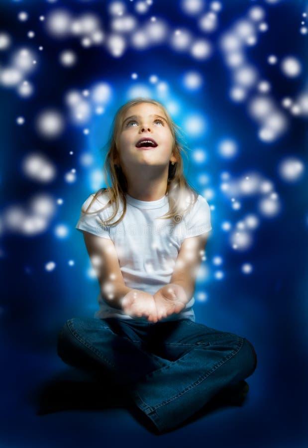 Magische Leuchten stockbild