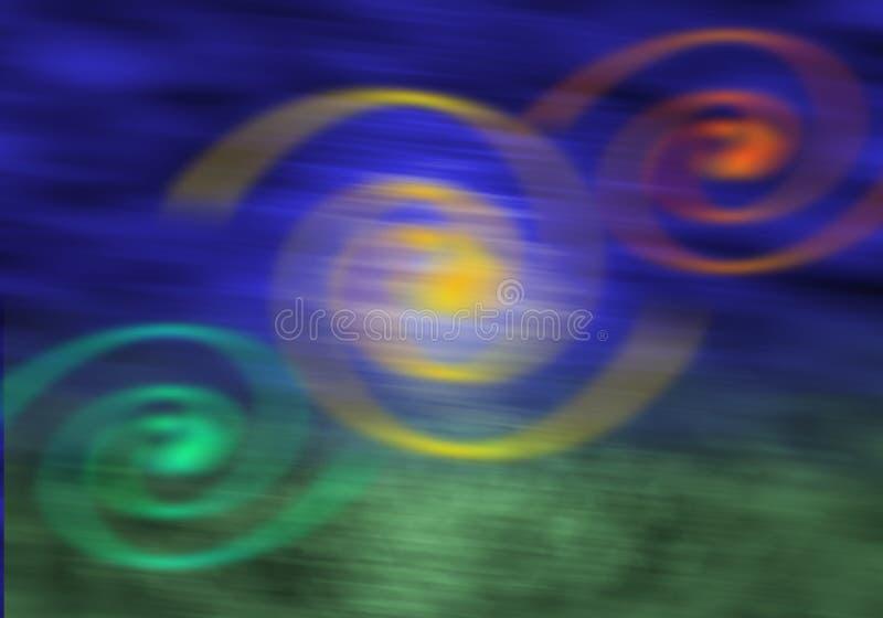 Magische lichten vector illustratie