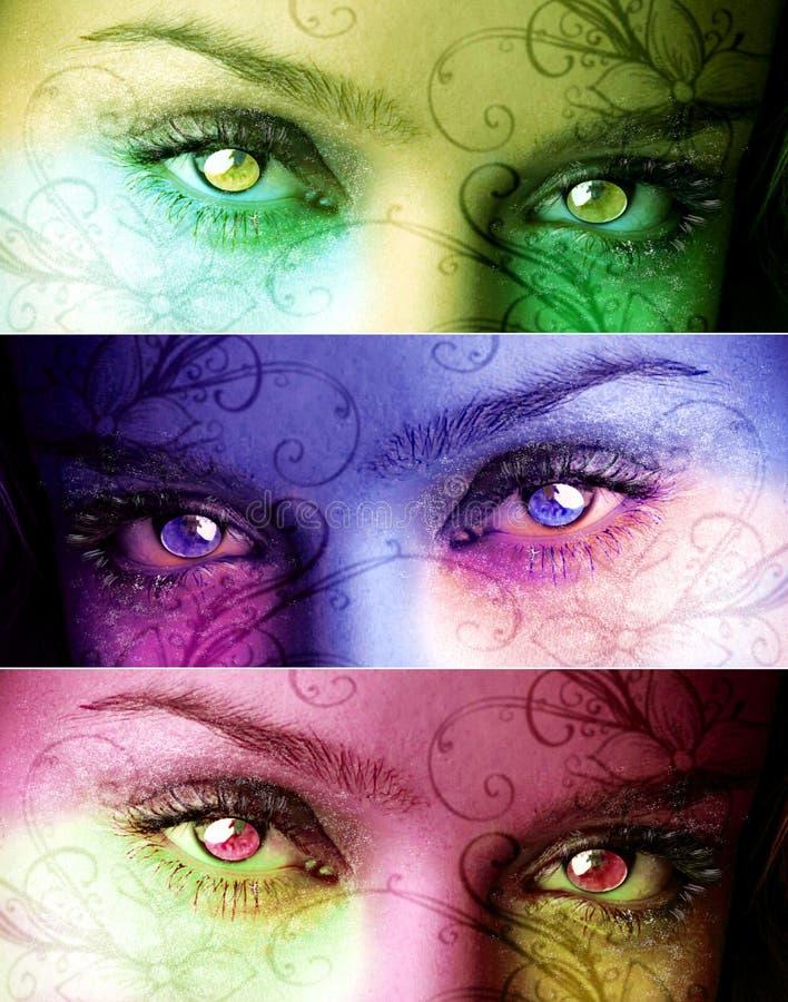 Magische ogen vector illustratie