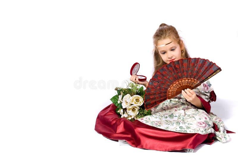 Magische Prinzessin stockfotografie