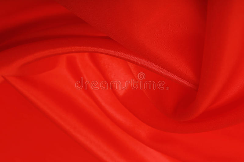Magische rote Seide lizenzfreies stockfoto