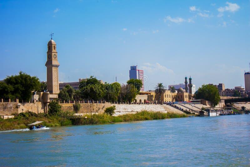 Magische Stad van Bagdad stock fotografie