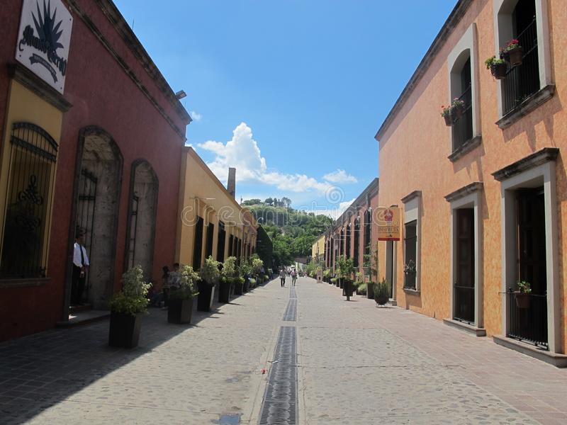 Magische Stadt von Tequila, Jalisco, Mexiko lizenzfreies stockfoto