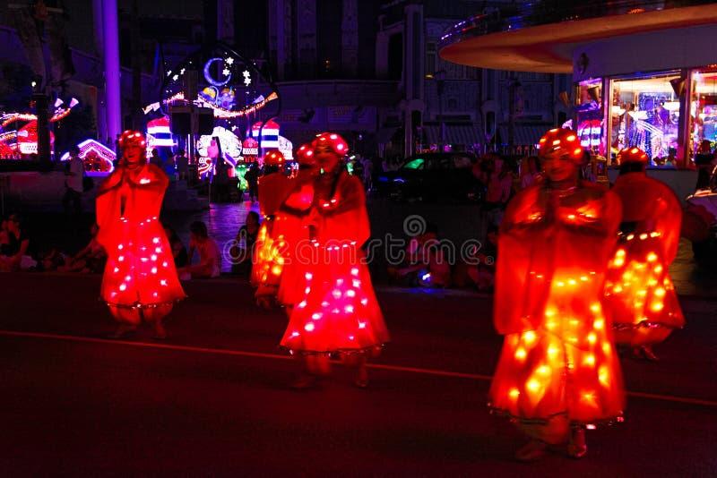 Magische Sternenlicht-Parade bei Universal Studios Japan stockbilder