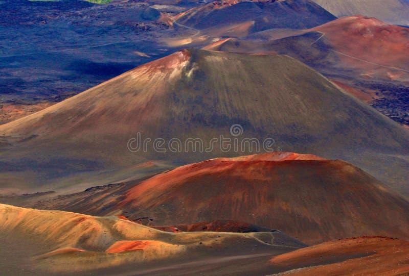 Magische vulkaan royalty-vrije stock foto