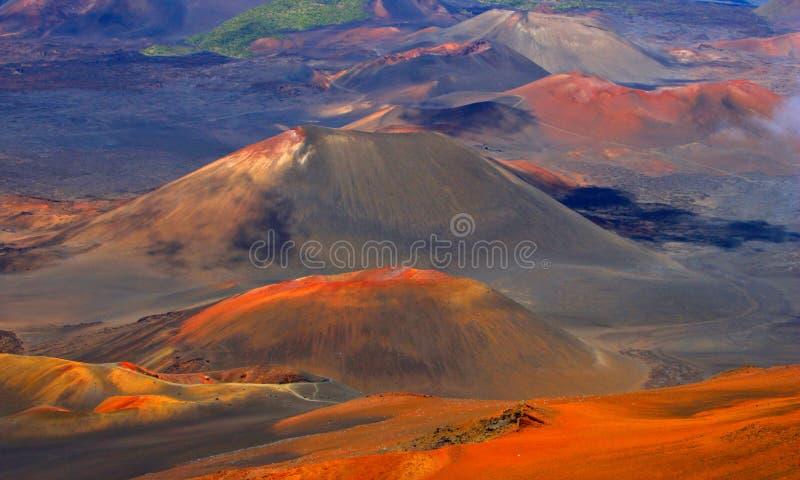 Magische vulkaan royalty-vrije stock afbeeldingen