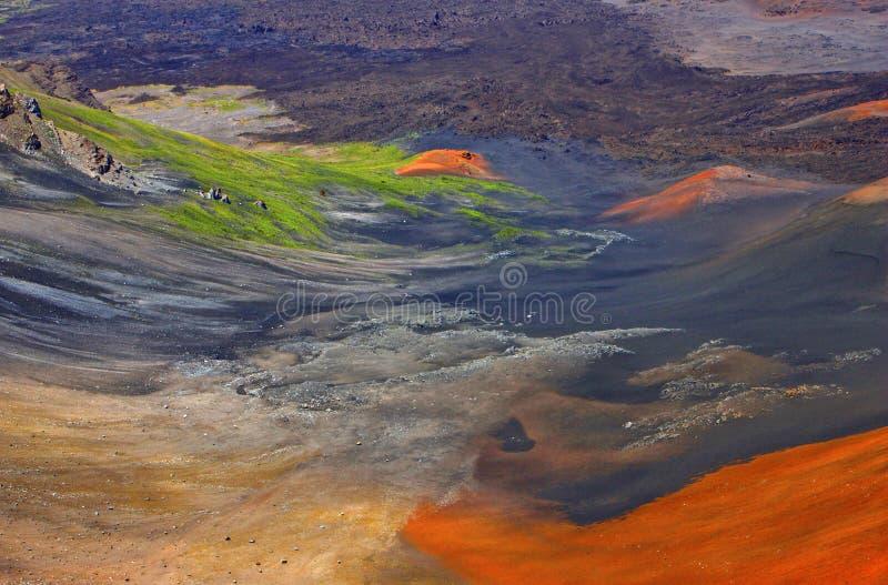 Magische vulkaan royalty-vrije stock afbeelding
