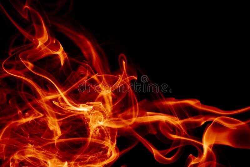 Magische vurige achtergrond royalty-vrije stock afbeelding