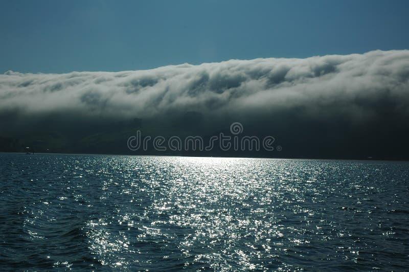 Magische wolken royalty-vrije stock fotografie