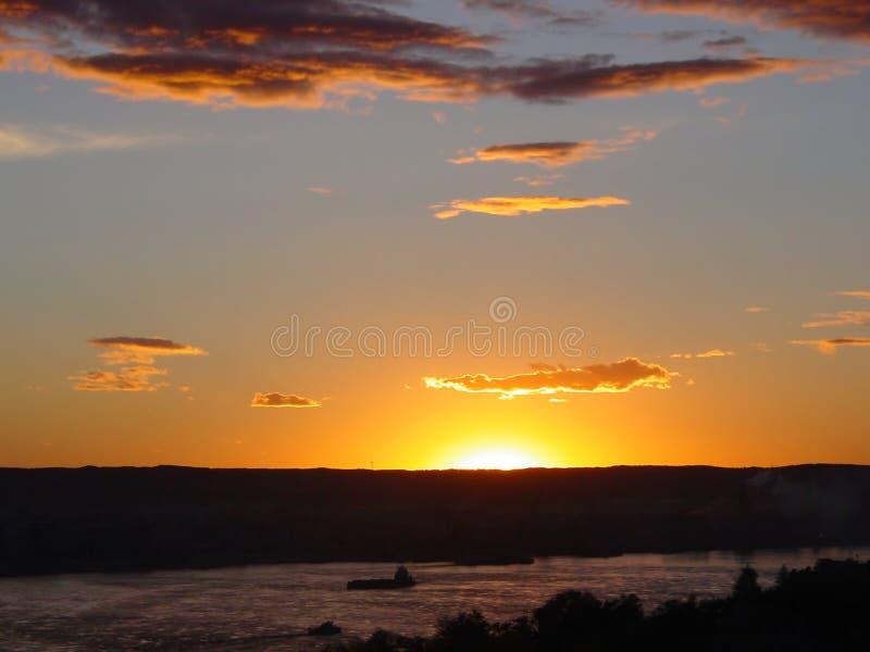 Magische zon stock afbeelding