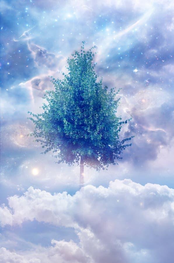 Magischer Baum des Lebens stockfotos