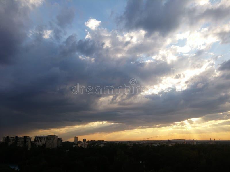 Magischer Himmel lizenzfreies stockfoto