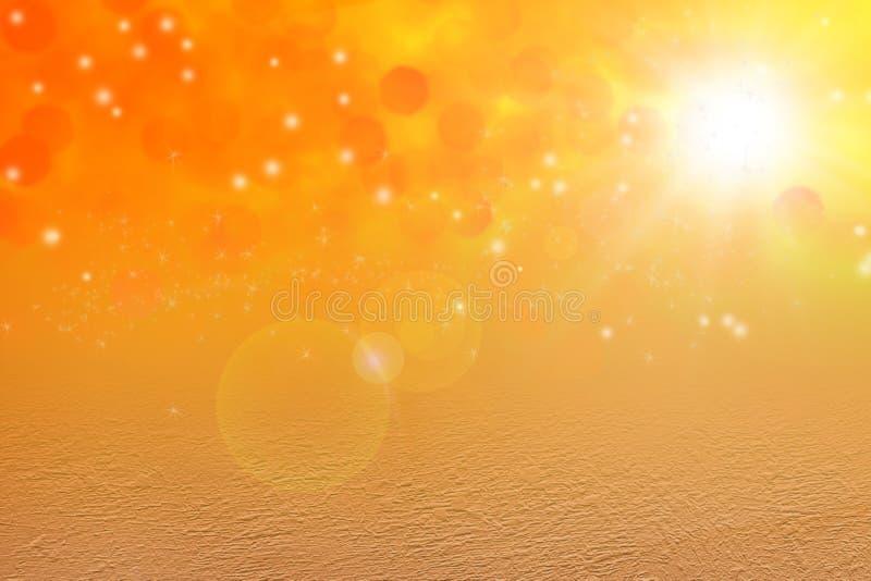Magischer Hintergrund des Sternstaubes vektor abbildung