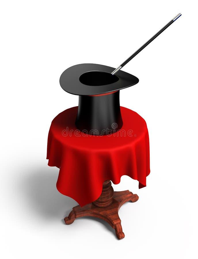 Magischer Hut lizenzfreie abbildung