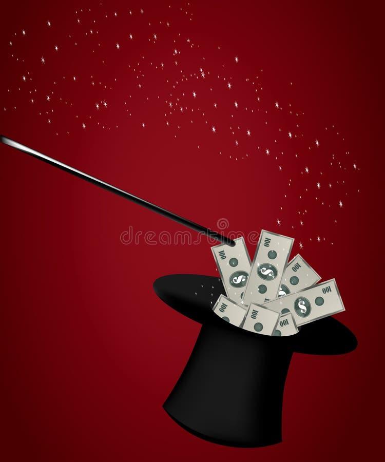 Magischer Hut stock abbildung