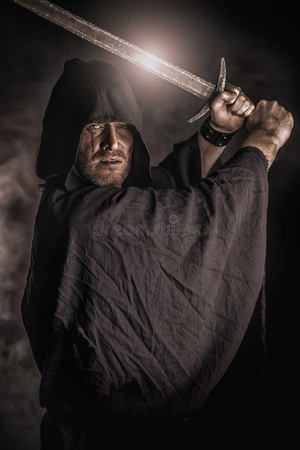 Magischer Krieger lizenzfreies stockfoto