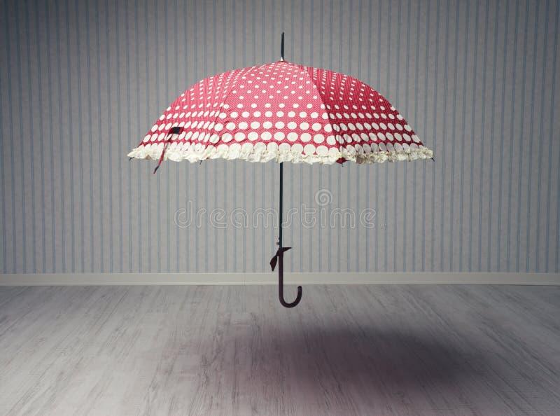 Magischer Regenschirm stockfotografie