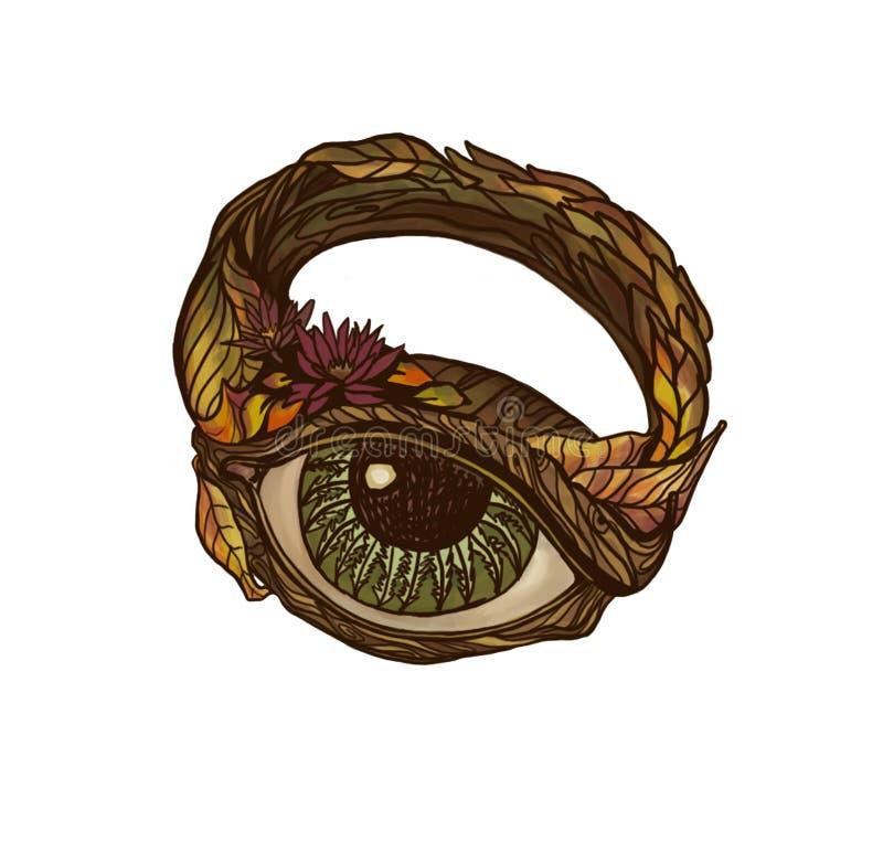 Magischer Ring lizenzfreie abbildung
