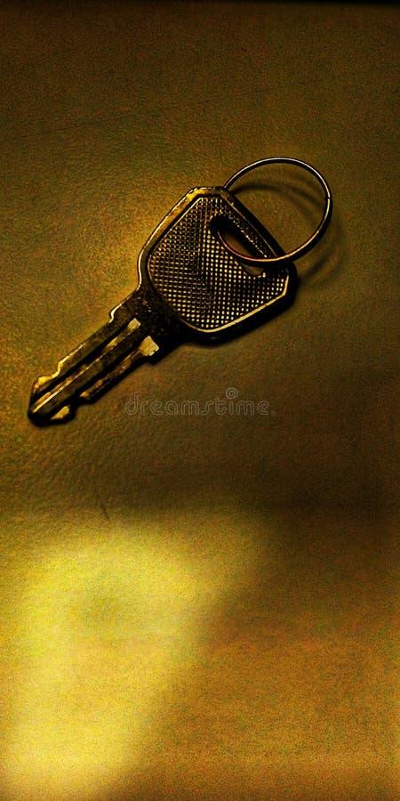 Magischer Schlüssel mit großem Entwurf lizenzfreie stockfotografie