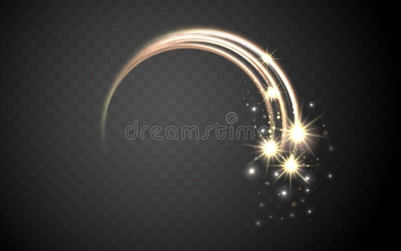 Magischer stardust Ring lizenzfreie abbildung