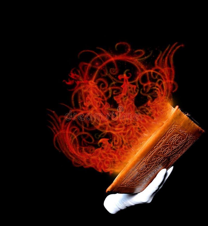 Magisches Buch lizenzfreies stockfoto