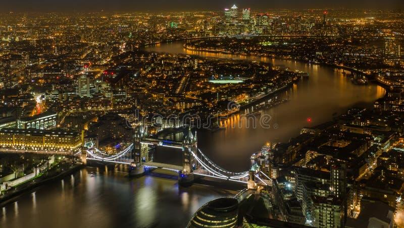 Magisches London nachts lizenzfreie stockfotografie