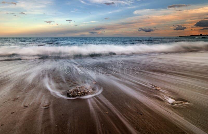 Magisches Meer stockfoto