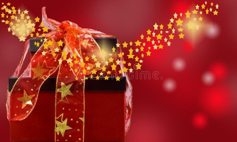 magisches Weihnachten lizenzfreie abbildung