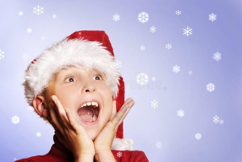 Magisches Weihnachten stockbilder