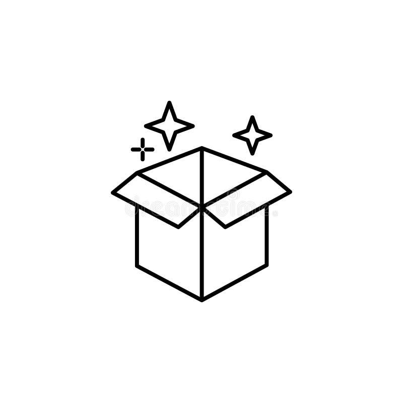 Magisk asköversiktssymbol Tecknet och symboler kan användas för rengöringsduken, logoen, den mobila appen, UI, UX vektor illustrationer