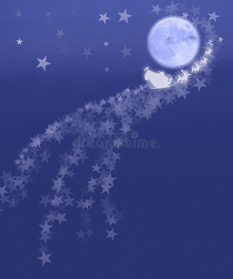 magisk jul royaltyfri illustrationer