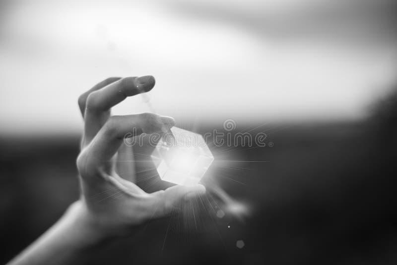 Magisk kub fotografering för bildbyråer