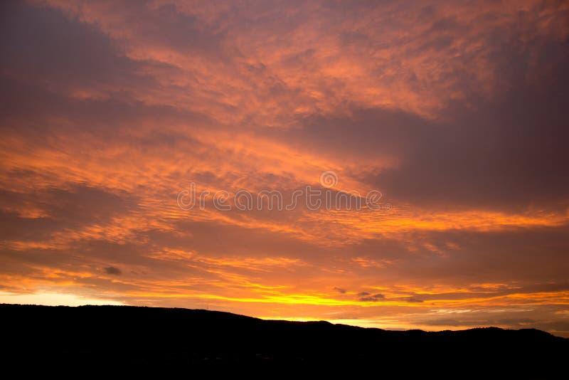 magisk sky arkivfoton