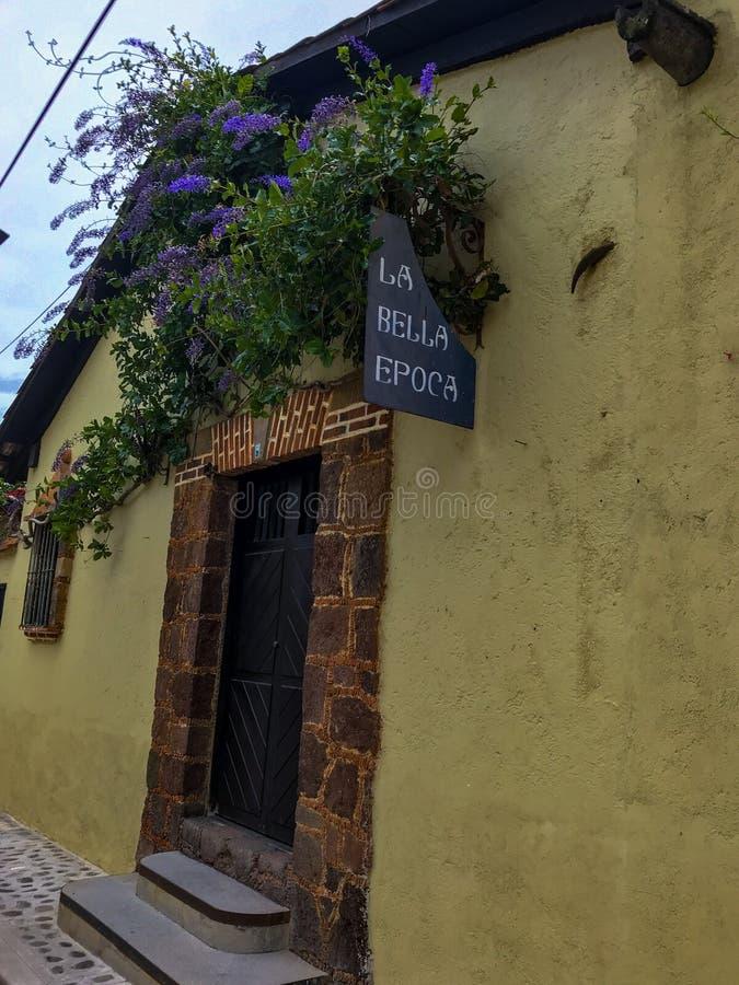 Magisk stad i Mexiko arkivfoton
